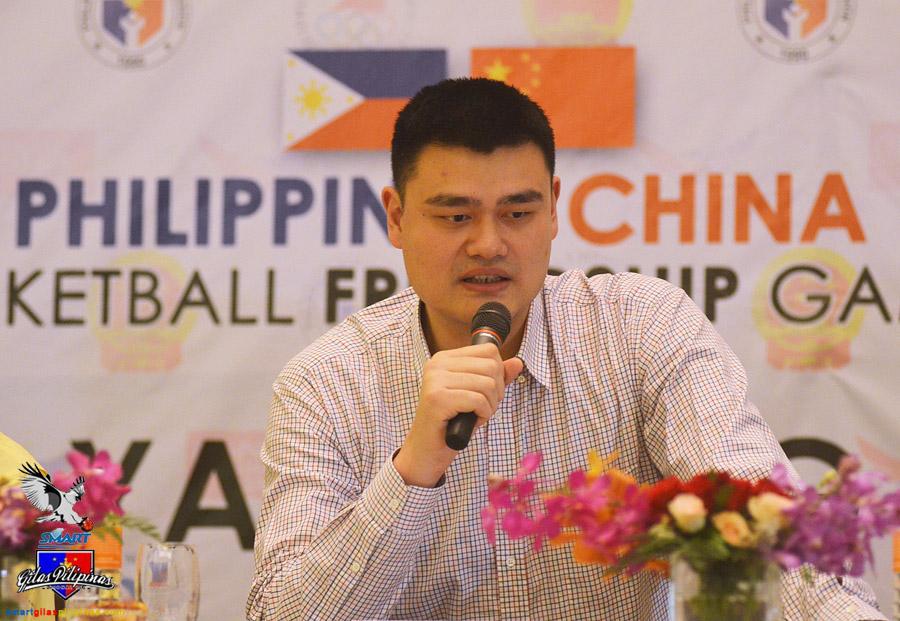 Yao Ming in Manila