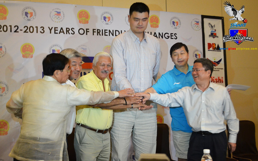 Yao Ming - Philippines-China Exhibition Match