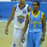 Gabe Norwood and Jerry Johnson