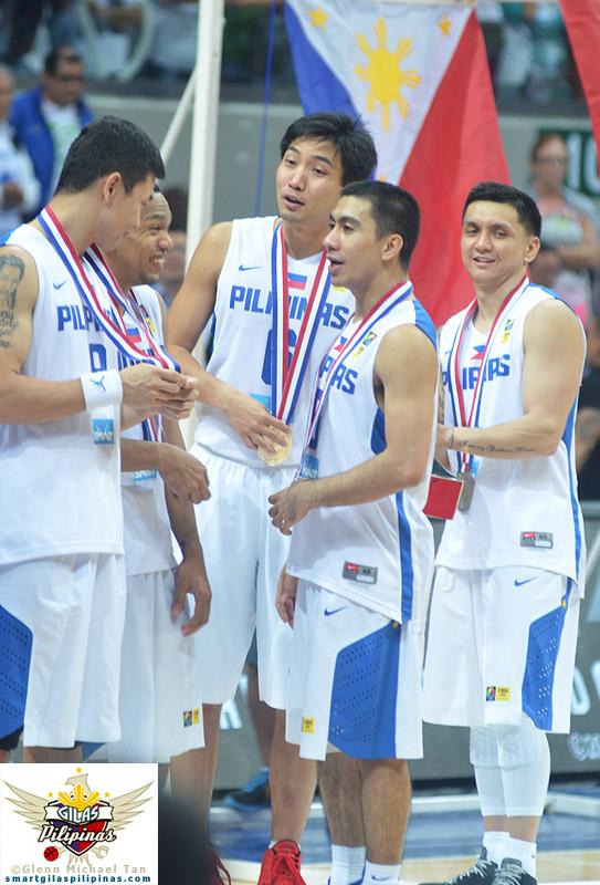 Gilas Pilipinas Silver Medal