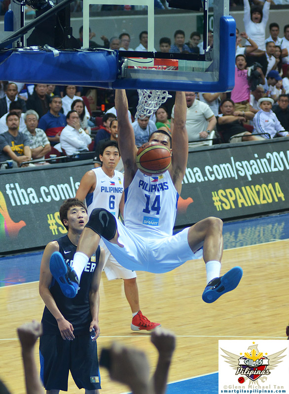Big slam by Japeth Aguilar