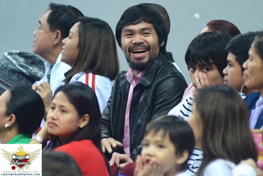 Congressman Manny Pacquiao!